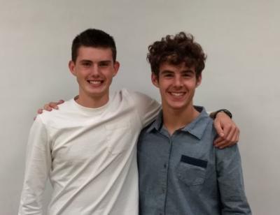 Joshua Kietzmann and Nate Schneiderhan