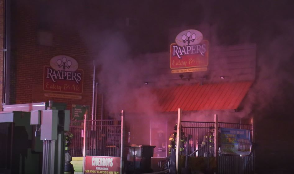 Fire Fighters at Raapers