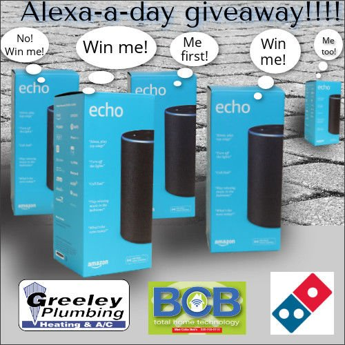 Alexa a Day Giveaway