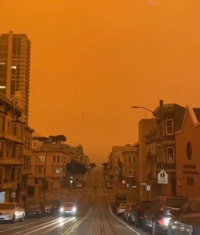 The Sky Over San Francisco
