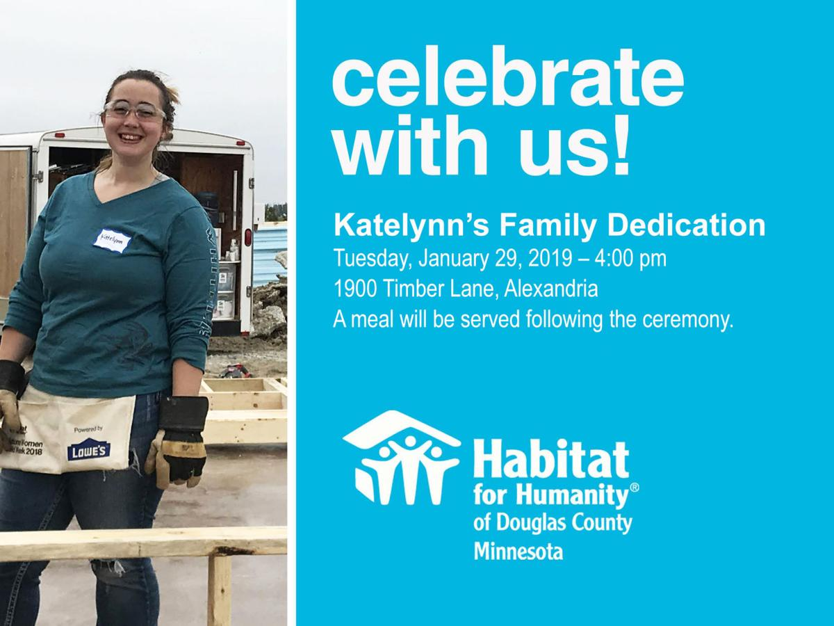 Habitat for Humanity Dedication Ceremony and Open House