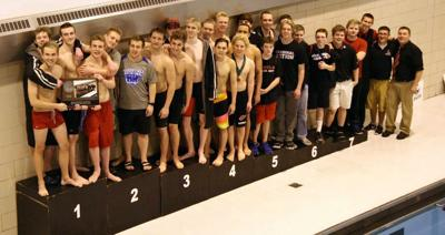 Alexandria Cardinals capture 2nd place in Section 5A Boys' Swimming