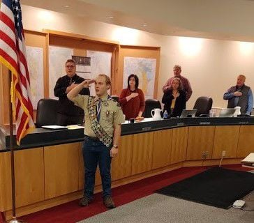 Eagle Scout David Fleming