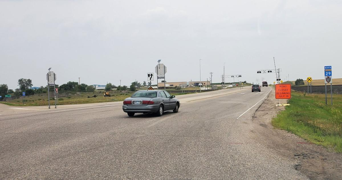 Road to close along Highway 29