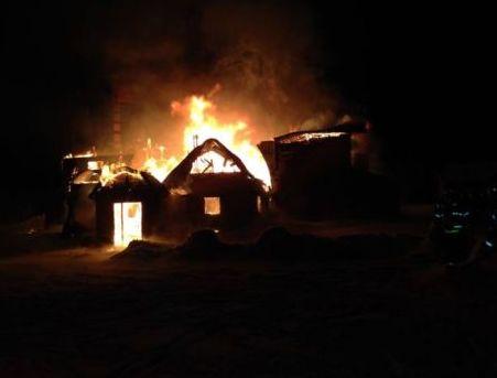 Long Lake Lodge Burns Down