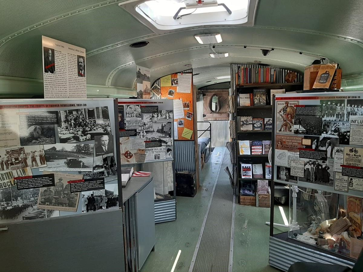 BUS-eum History Tour at Douglas County Library