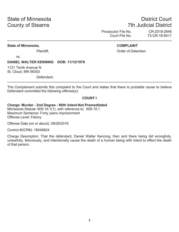 Criminal Complaint | Local News | voiceofalexandria com