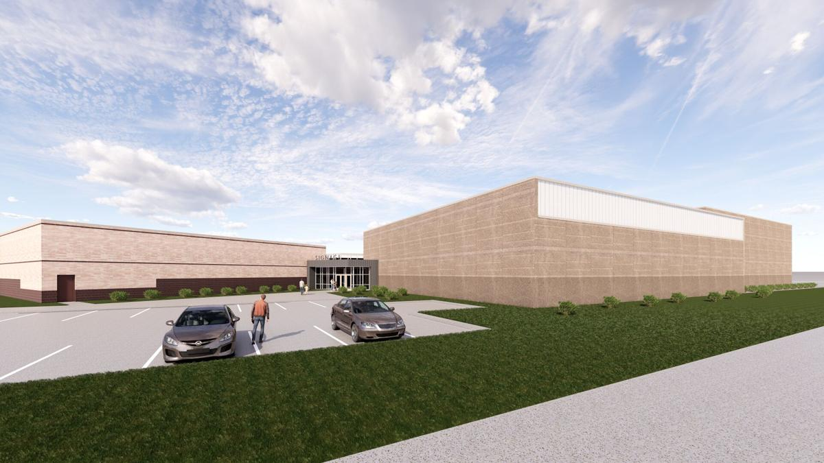Proposed addition to Discovery Middle School