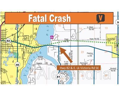 Fatal Crash Near Alexandria