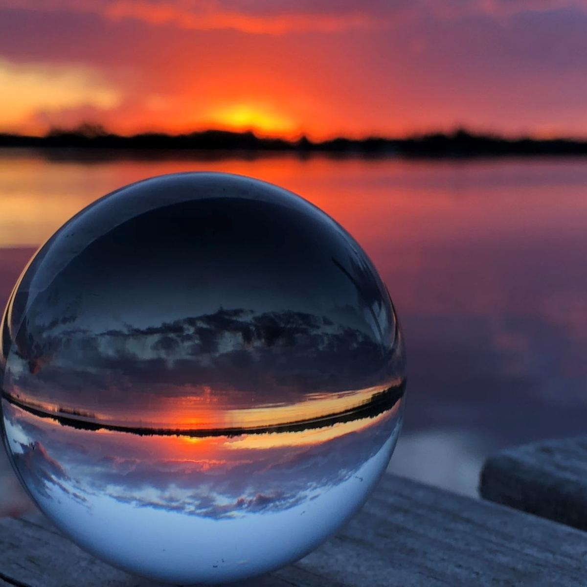 Lake Brophy- crystal ball