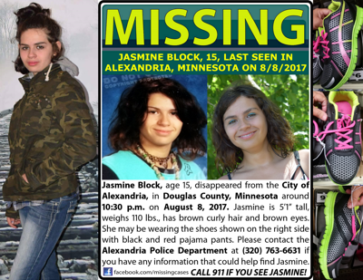 Missing Alexandria Teen