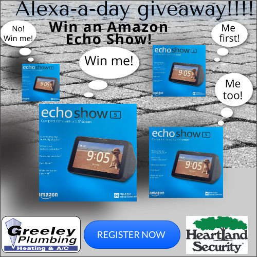 "Play the ""Alexa a Day Giveaway"""