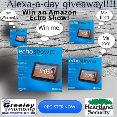 Alexa A Day Giveway