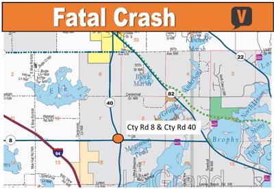 Fatal Crash at Cty Rd 8 & 40 Intersection