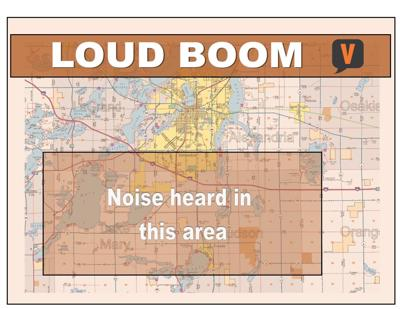 Loud noise in rumble in southern Douglas County