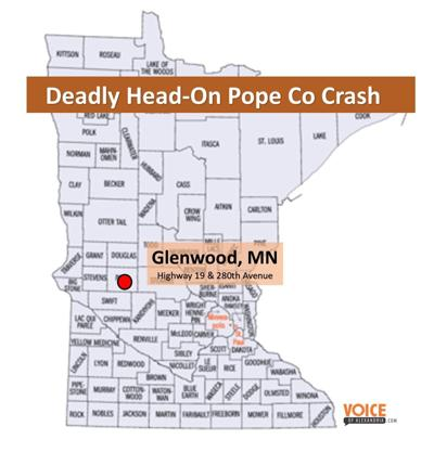 Fatal Head-On Crash in Pope County