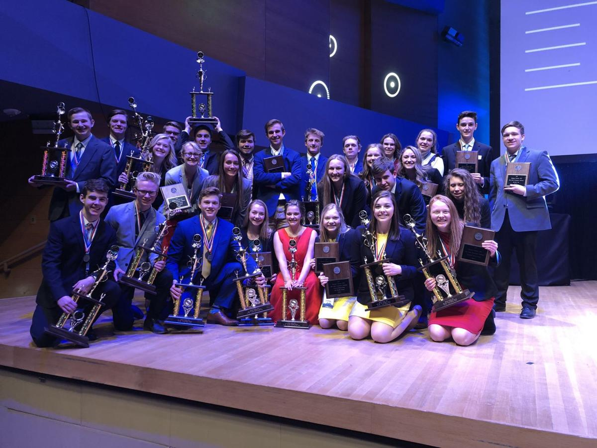 Alexandria DECA club does well at State
