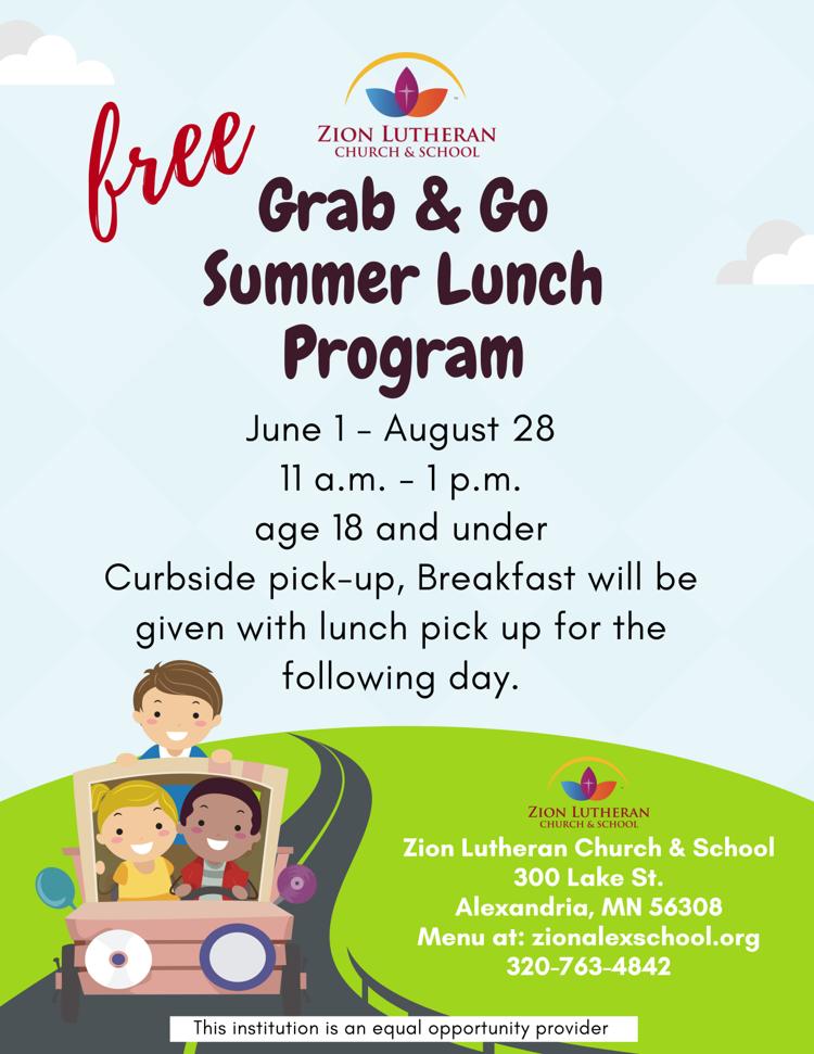 FREE Grab & Go Summer Lunch Program