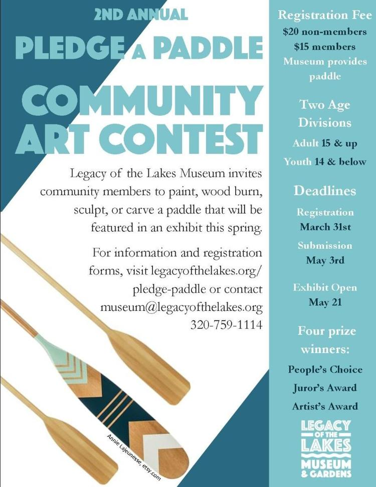 Pledge-A-Paddle Community Art Contest