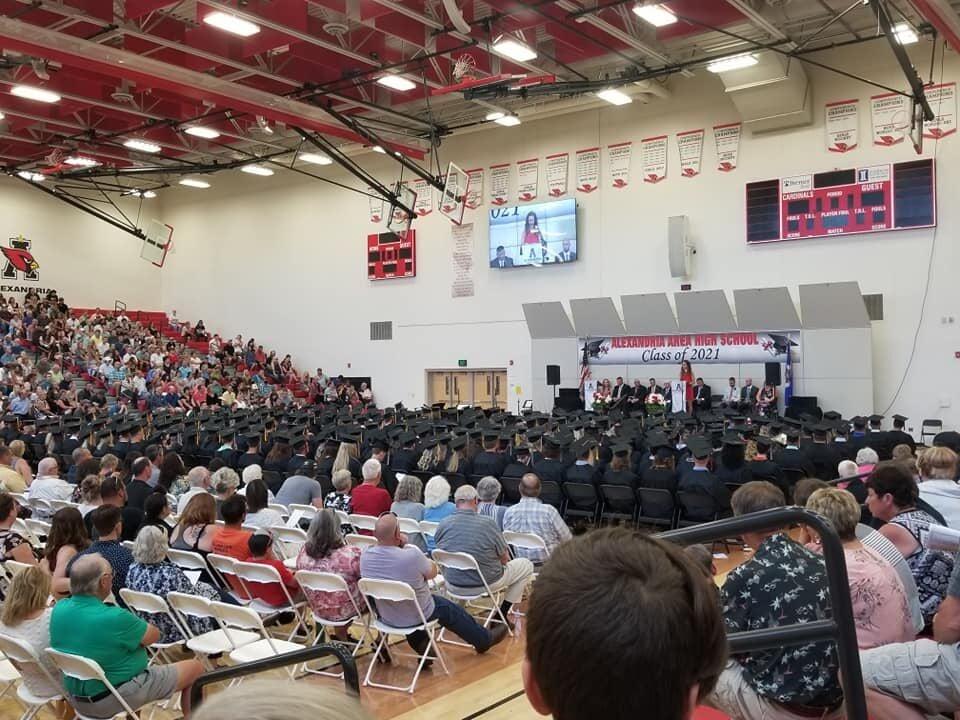 2021 AAHS graduation ceremony