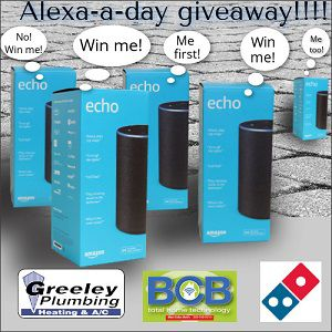 Alexa a Day Give Away
