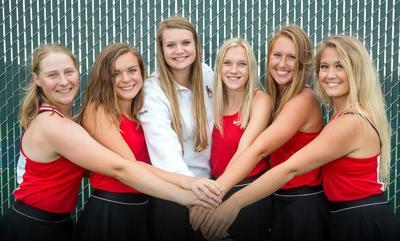 2019 Alexanrdria Girls' Tennis Seniors