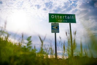 City of Ottertail sign