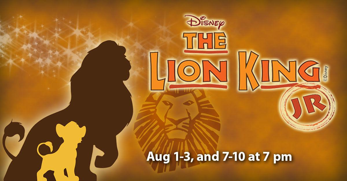 STP production of Disney's Lion King JR