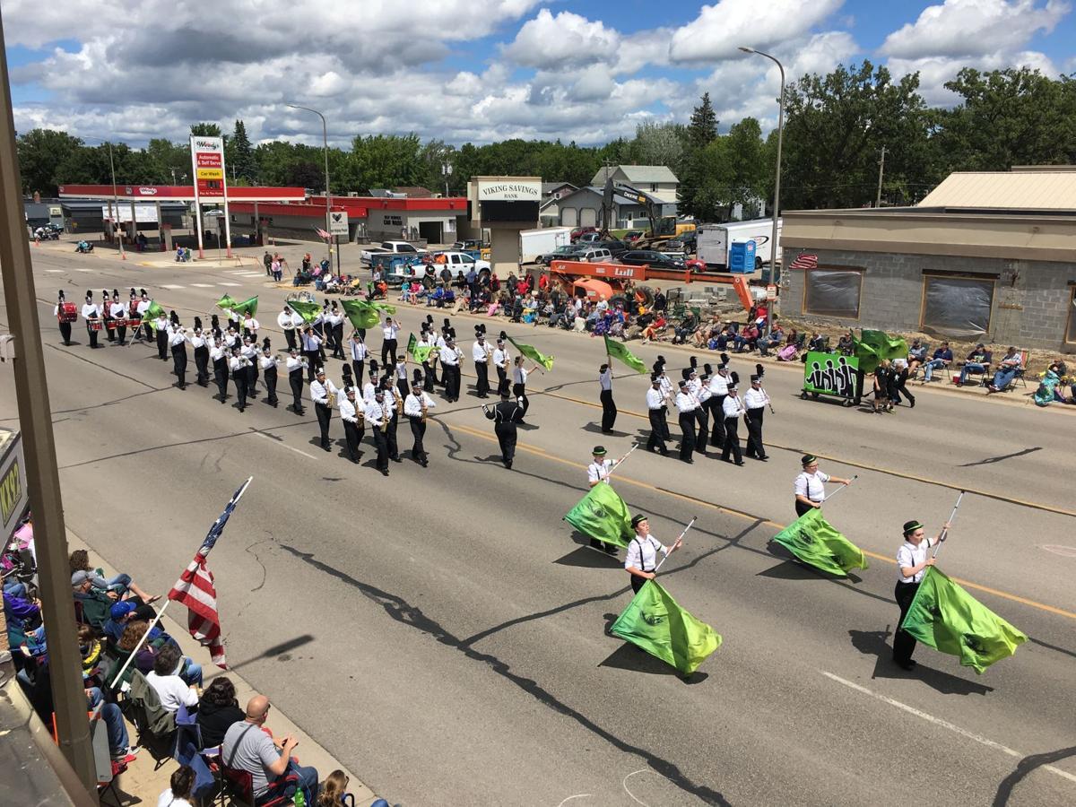 Alexandria Cardinal Marching Band, Vikingland Band Festival 2017