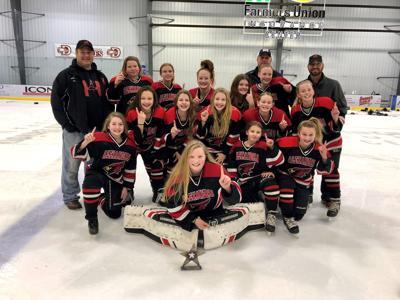 Explore Alexandria 12U-B Girls' Hockey: Fargo Scheels Girls' International Tournament Champions!