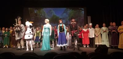 Frozen Jr. Hits the Andria Stage