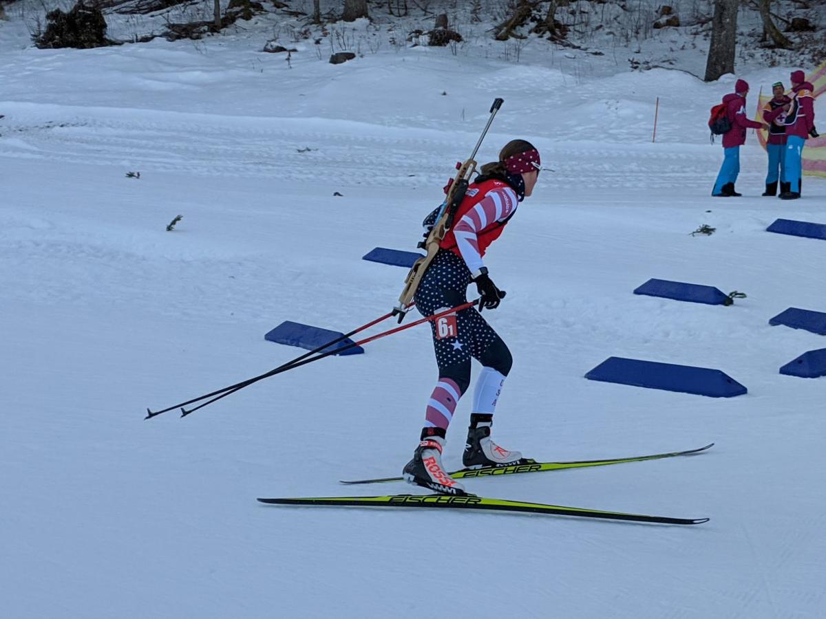 Kaisa during Sunday's Single Mixed Races