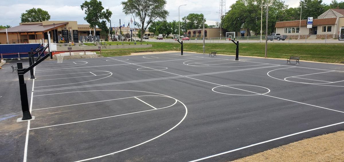 The new Matt Kjelland Memorial Courts