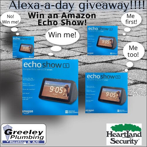 """Play the """"Alexa A Day Giveaway"""""""