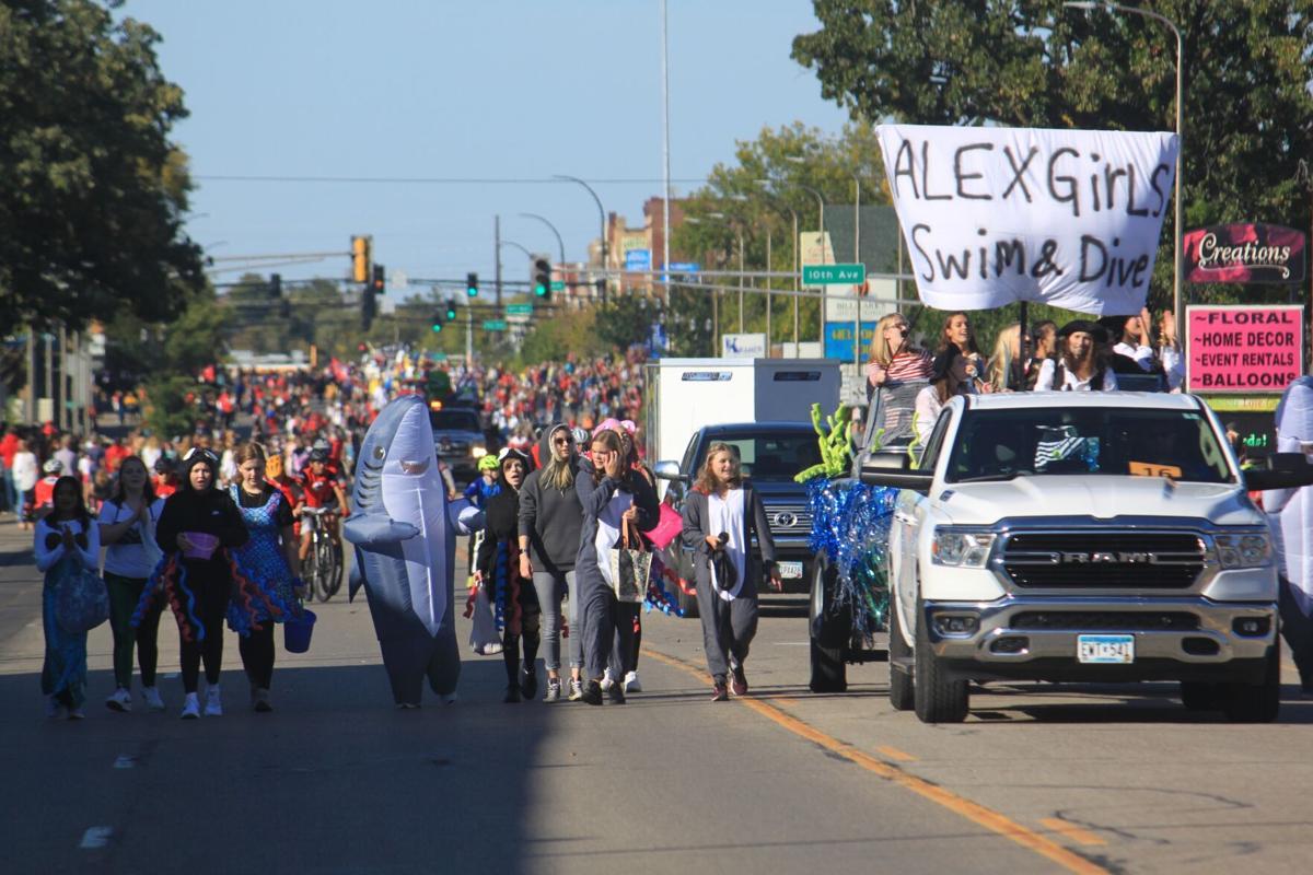 2021 AAHS Homecoming Parade