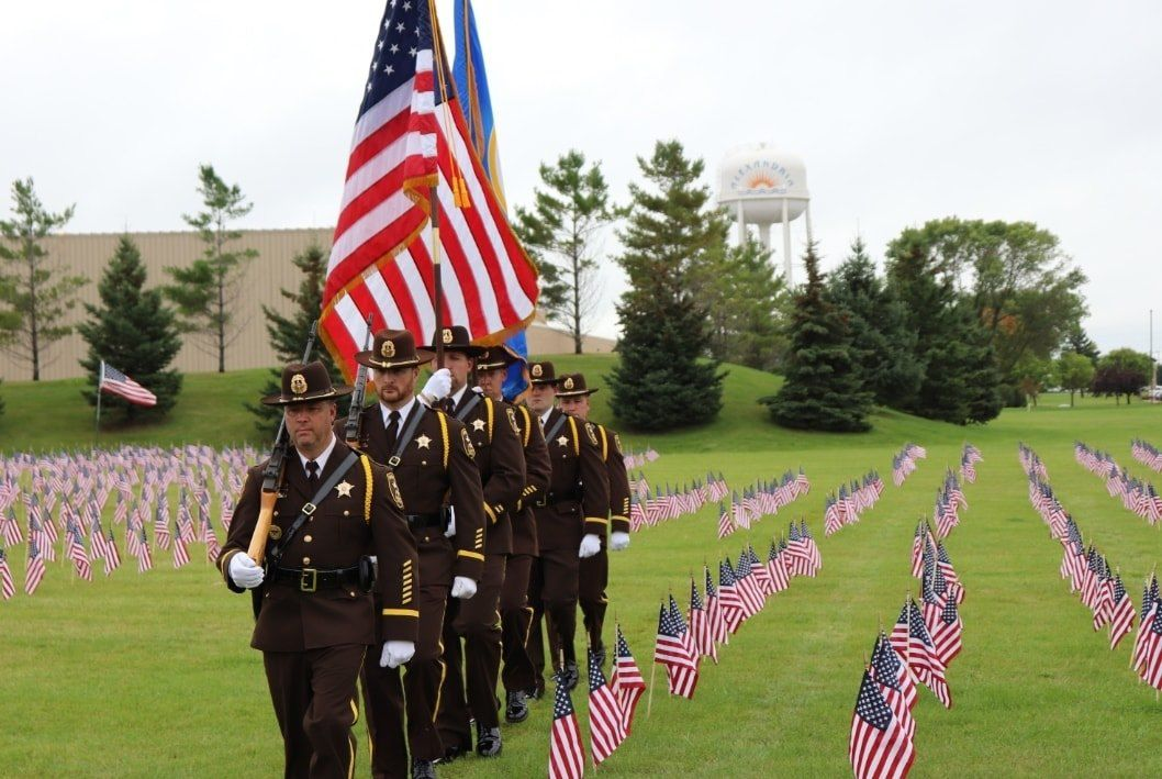 Honor Guard Pays Tribute to 9-11 victims
