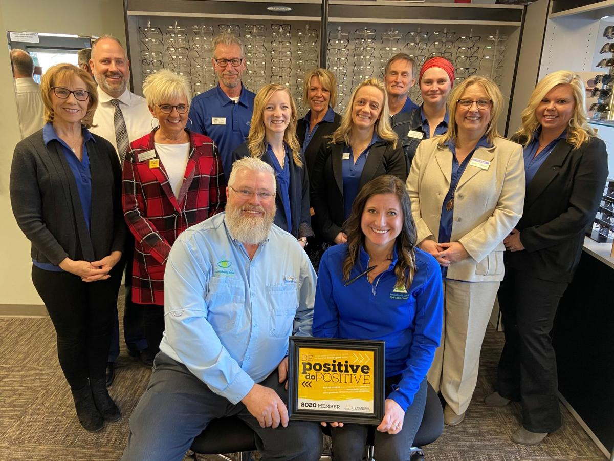 Chamber Membership Team Recognizes Randy's Family Optical