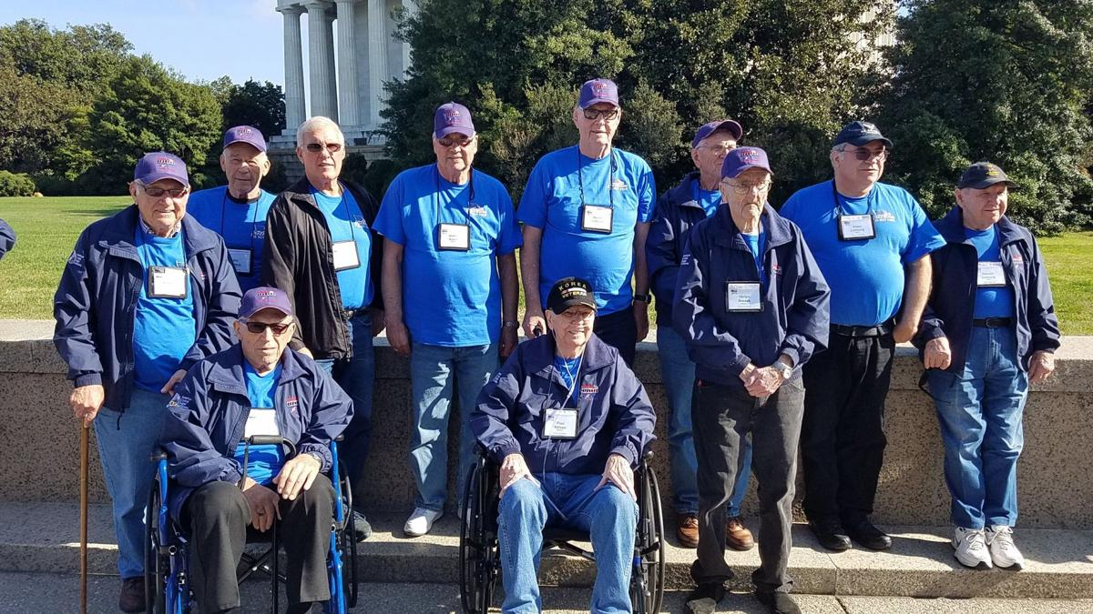 Douglas County Veterans on October 2019 Honor Flight to Washington, DC