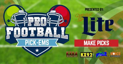 It's Pro Football Pick'em Time with Miller Lite!