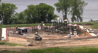 Lake Brophy County Park Playground