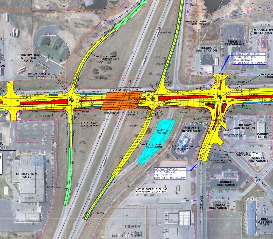 Highway 29 traffic switch, overnight I-94 closures begin