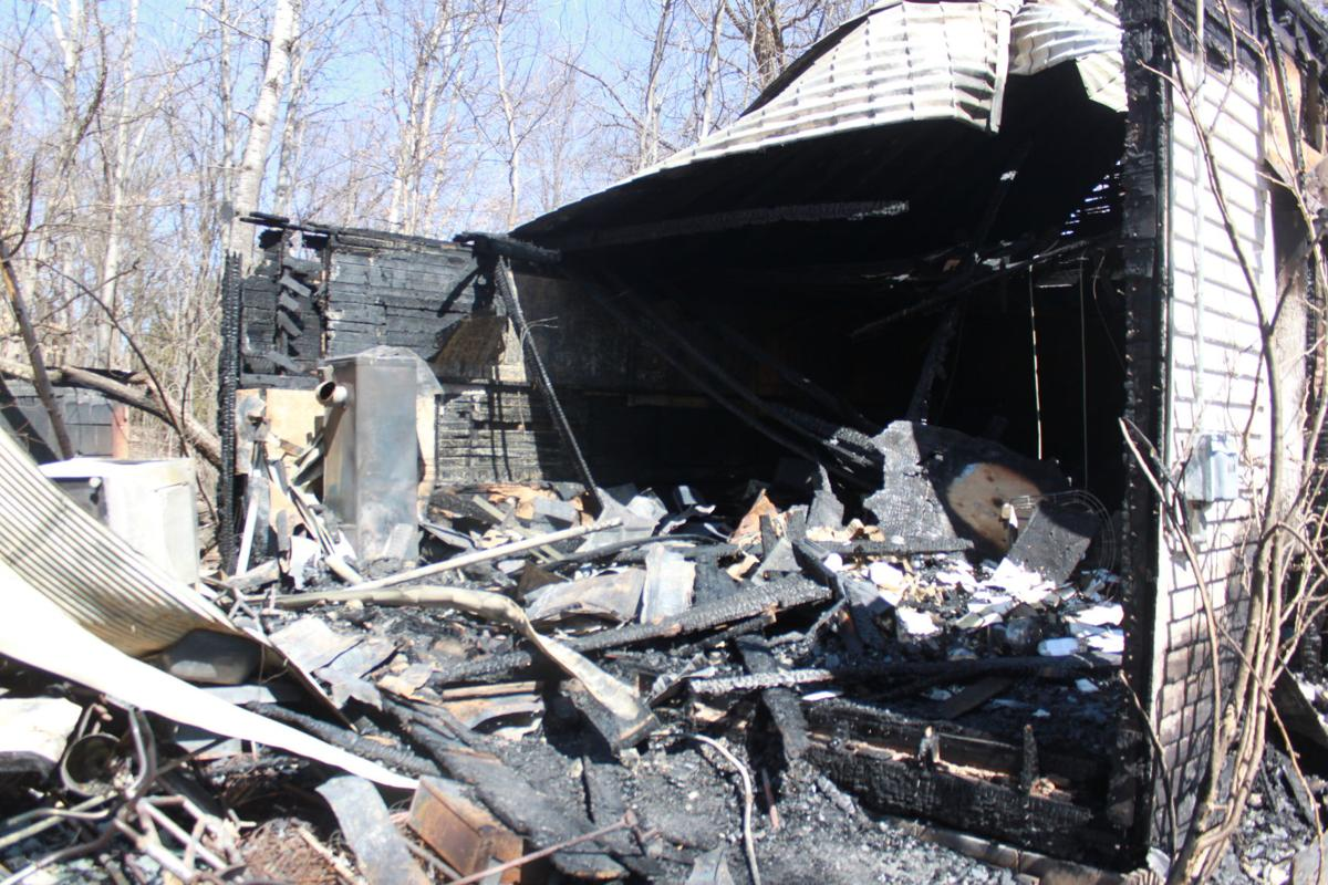 School building and its contents were destroyed in the fire