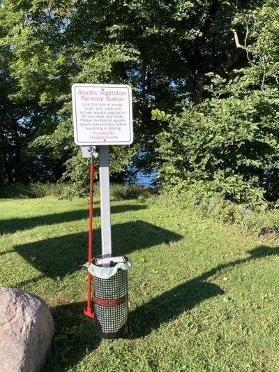 Aqua Weed Stick Landing Station- Lake Miltona