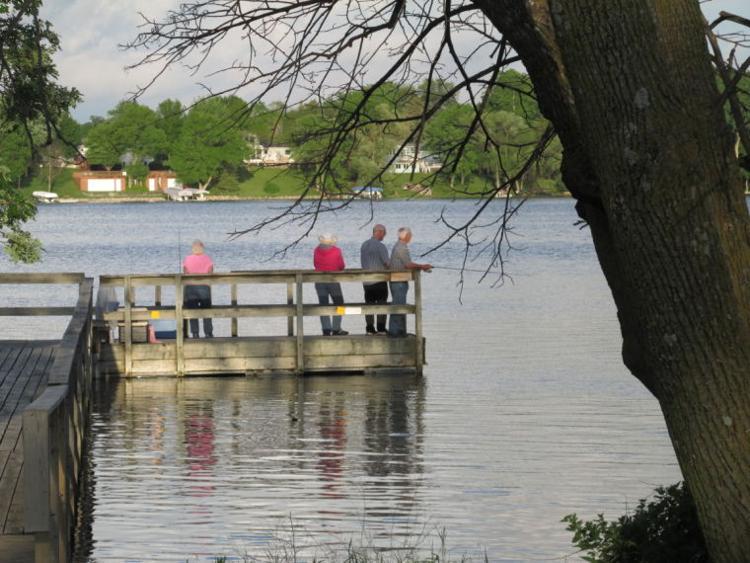 The Fishing Dock on Geneva