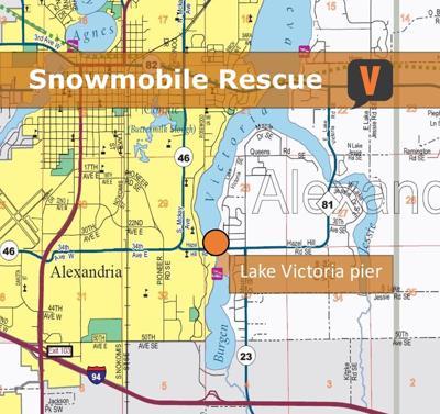 Snowmobile Rescue on Lake Victoria