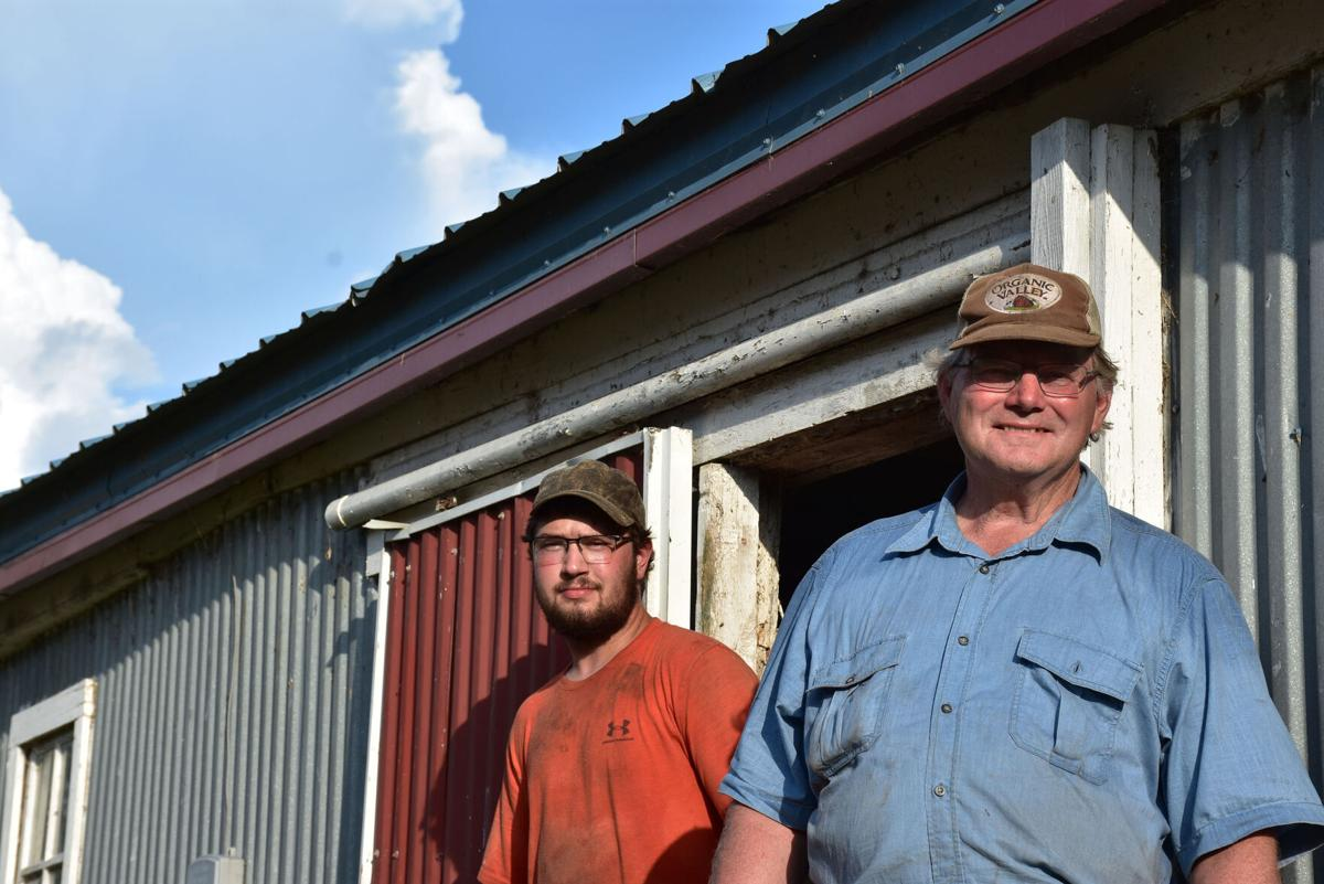 Schouweiler is getting into dairy farming as Wagner prepares for eventual retirement.