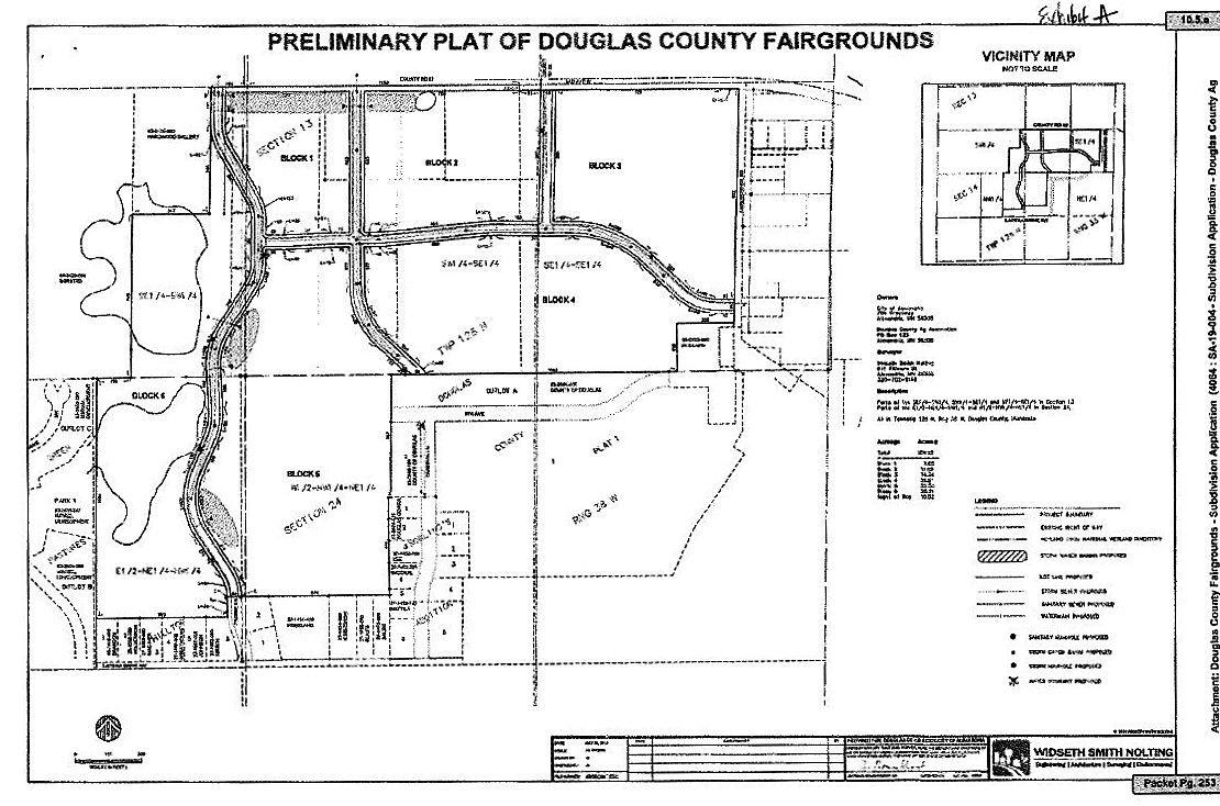 Douglas County Fairgrounds Preliminary Plat