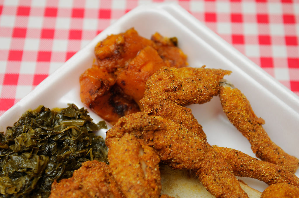 Frog legs hop into columbia at ms kim 39 s fish chicken for Hip hop fish chicken menu