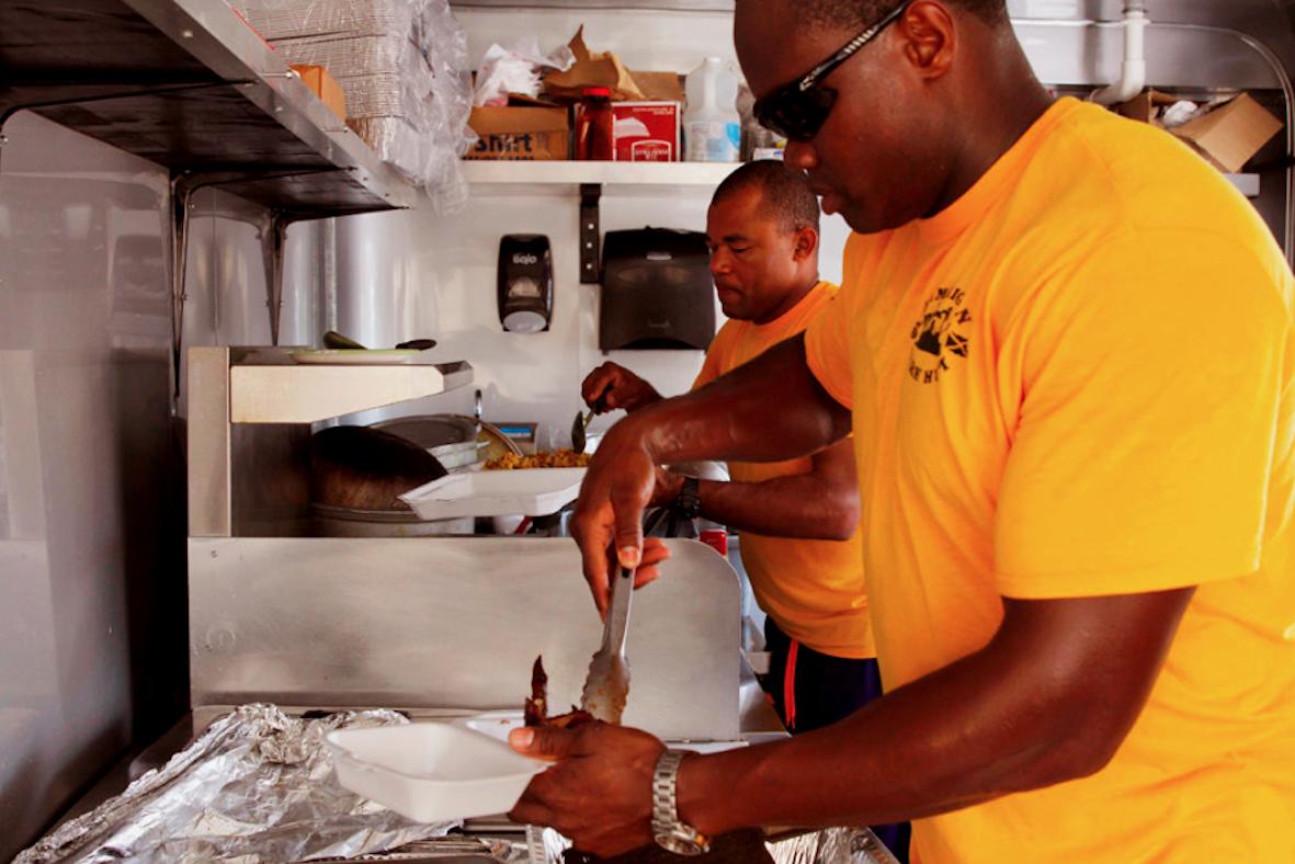 Jamaican jerk food main image
