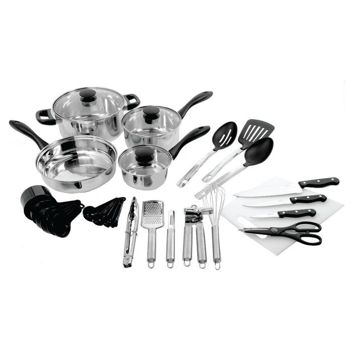 gibson 30-piece kitchen set